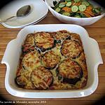 recette Gratin de légumes grillés à l'indienne