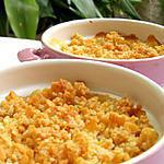 recette Crumble de pêches aux corn flakes