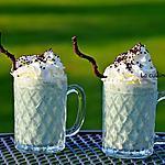recette Milk shake à la banane, pistache et spiruline
