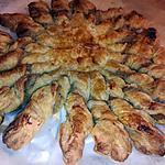 recette Tarte soleil au saumon