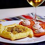 recette Feuilleté de noix de Saint Jacques cuisinées au beurre