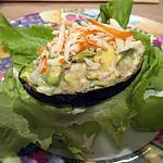 recette Avocat pommes concombre surimi
