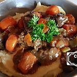 recette Paleron mijoté aux carottes et panais