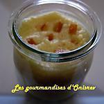 recette Semoule à l'orange avec le «Companion »