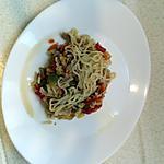 recette nouille chinoise au poulet et legumes