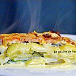 recette Gratin dauphinois et ses courgettes, plat végétarien