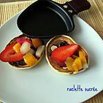 recette raclette sucrée