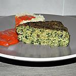recette Gâteau de pain de viande aux épinards-crème