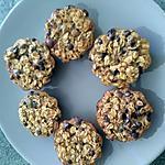 recette Muffins noisettes bananes