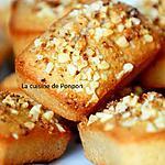recette Financier à la crème de marron aux éclats de châtaignes