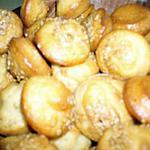 recette Bouchées au sésame pour l'apéritif
