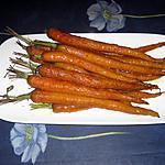 recette Carottes rôties au four