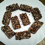 recette Barre petit  déjeuner avec flocons d'avoine