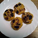 recette Cookies  sucrés au potimarron Recette pour environ 20 cookies