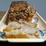 recette Gâteau pommes -poires avec flocons d'avoine