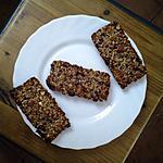 recette Barre de céréales :avec flocons d'avoine.