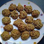 recette Biscuits croquants flocons d'avoine :