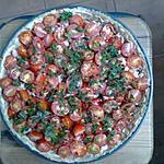 recette Tarte tomate et thon pour 6 personnes