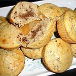 recette Muffins à la crème de marron et chocolat