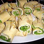 recette Wraps de poulet au St Môret