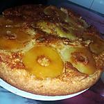 recette Gâteau renversé au pommes