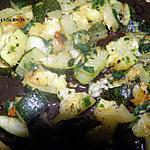 recette salade de courgette (entree chaude)