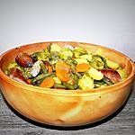 recette Potée aux petits choux-haricots-carottes et saucisses