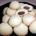 recette fourrés sablés aux dattes