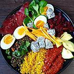 recette Mon assiette lunch riche en protéines