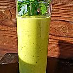 recette Soupe chaude ou froide carottes jaunes lait de coco coriandre gingembre
