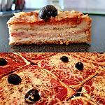recette croque pizza
