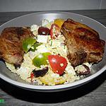 recette Couscous et ses côtes d'agneaux
