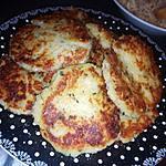 recette Galettes de purée de pommes de terres