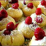 recette Muffins Nature ( et framboises )