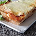 recette Croque cake italien