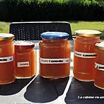 recette Confiture de poires à la cannelle