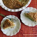 recette Tarte-croustade aux pommes et au chocolat blanc +