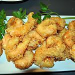 recette Crevettes  Pannées  au Panko