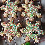 recette Petits biscuits de Noël 2016
