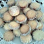 recette petit four  au coco rapé