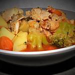 recette Soupe aux légumes et poulet