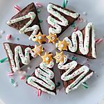 recette Brownie de Noël ... déguisé en sapin !