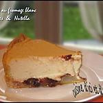 recette Tarte au fromage blanc , poires & nutella