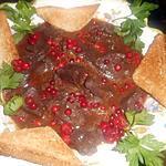 recette Sauté de cerf sauce aux airelles