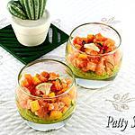 recette Verrines de Saumon et Salsa