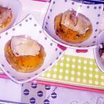 recette blinis a  la courge butternut et st jacques