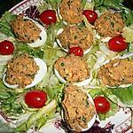 recette Oeufs durs aux sardines