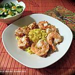 recette Crevettes colossales farcies au pesto rosso +