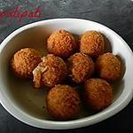 recette Boulettes de crevettes
