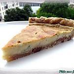 recette Quiche au roquefort, aux noix & au miel